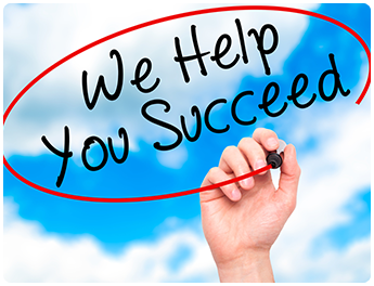 We Help You Succeed Poster